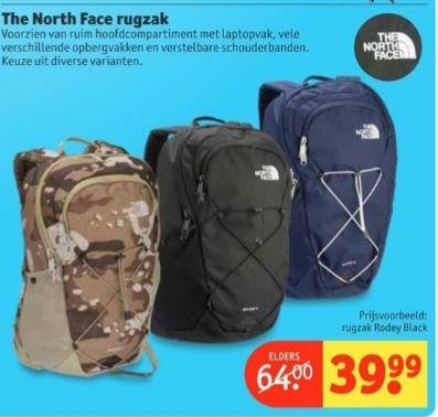 North Face tas