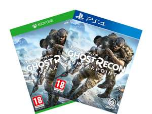 Tom Clancy's Ghost Recon Breakpoint PS4 XBOX @ING 14,- + 100 punten