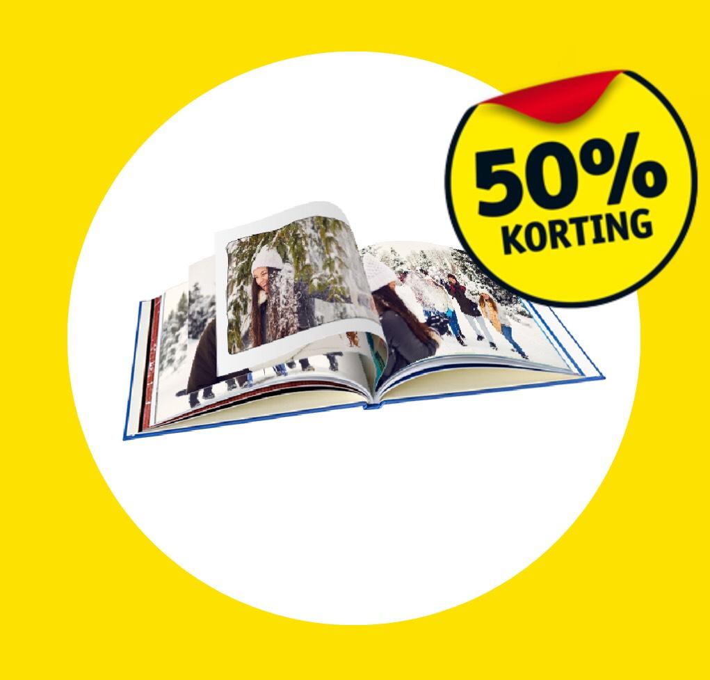 Kruidvat Fotoboek aanbieding ! 50% korting op alle extra pagina's in je fotoboek