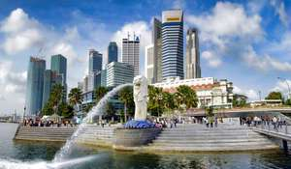 Goedkoop naar Singapore in juni en juli