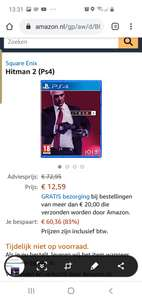 Hitman 2 playstation 4 editie @amazon.nl