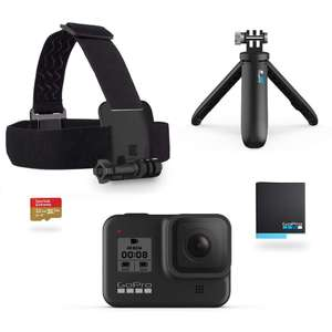 GoPro Hero 8 Black + Holiday Kit (Amazon.nl)