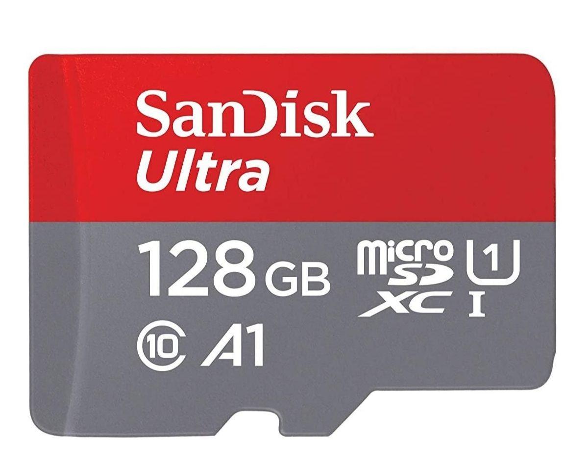 SanDisk Ultra microSDXC UHS-I geheugenkaart 128 GB