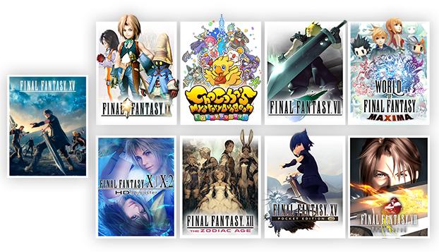 [Xbox One] tot 50% korting op diverse Final Fantasy games