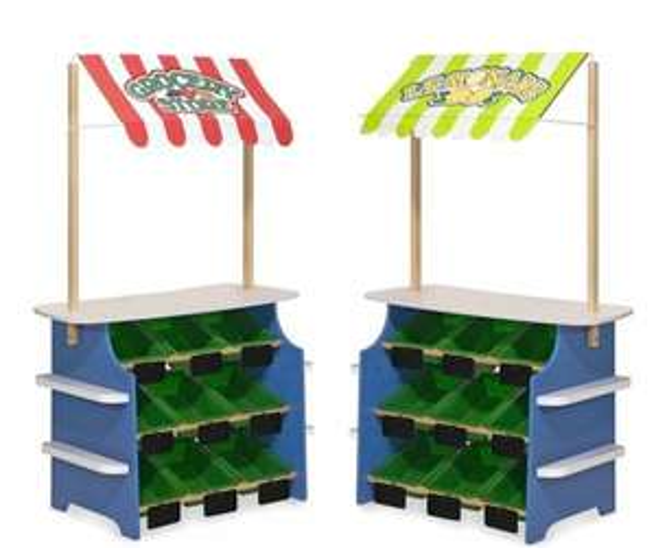 Melissa & Doug houten kruidenierszaakje/limonadekraam voor €48 @ wehkamp