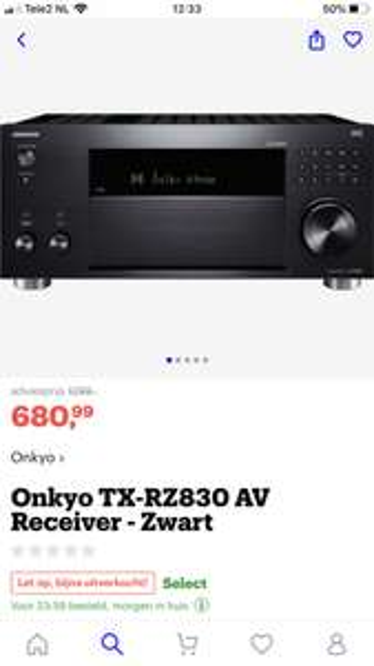 Onkyo TX-RZ830 11.2 Receiver