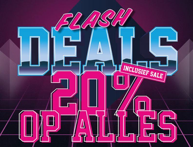 Code: 20% korting - ook op sale @ Snipes
