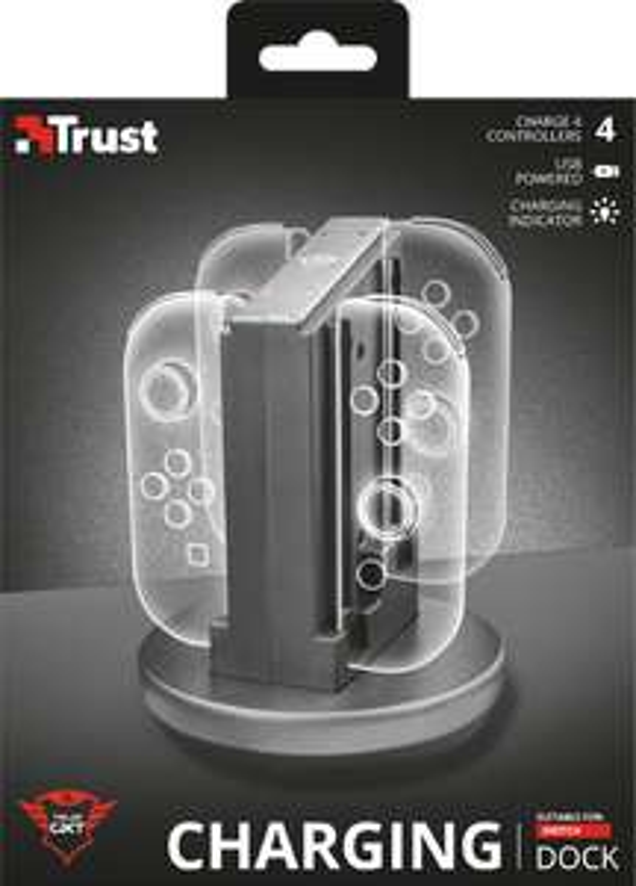 Trust GXT 1224 oplaaddock voor Nintendo Switch controllers @ Amazon.nl