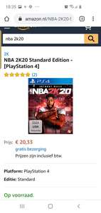 Nba 2k20 playstation 4 @ amazon.de