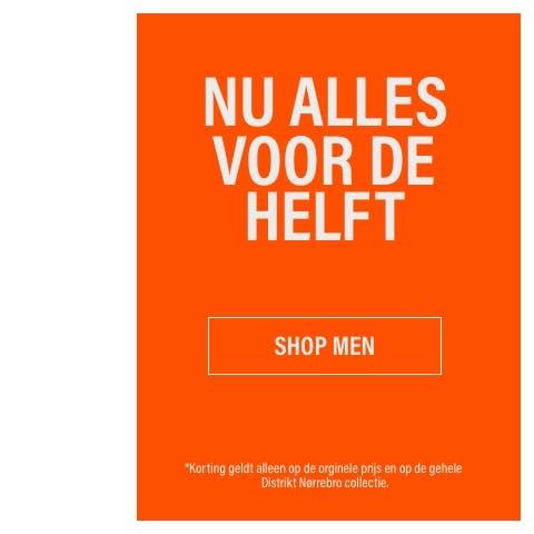 Distrikt Nørrebro 50% korting op gehele collectie