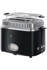 Russell Hobbs Retro Classic Noir Broodrooster - Amazon.nl