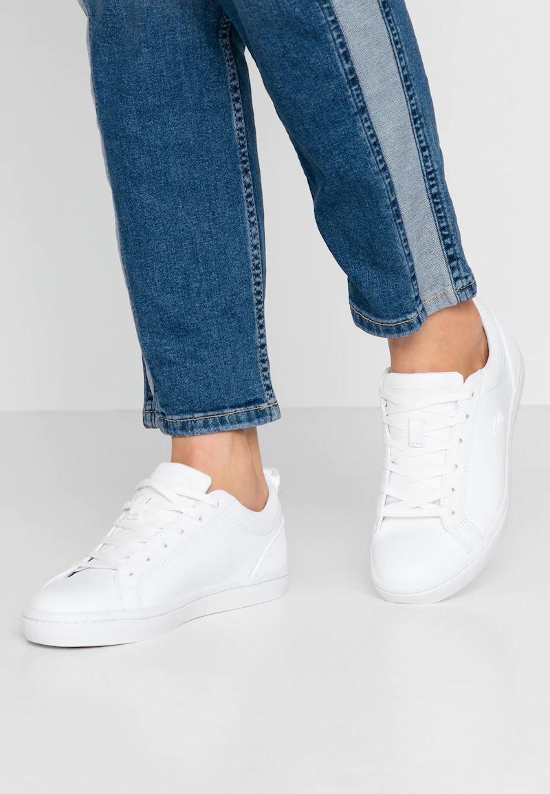 Lacoste STRAIGHTSET - Sneakers laag - white van 114,95 voor 62,95