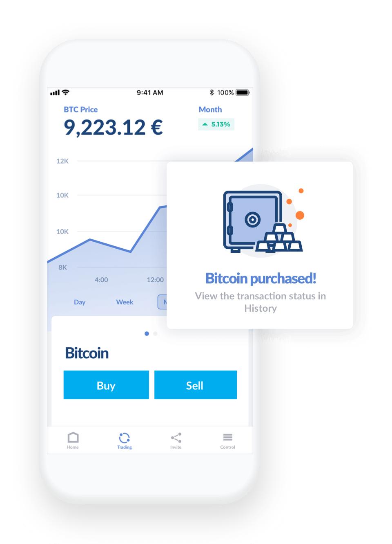 gratis €20 in BTC bij Bitwala (gratis bankrekening)