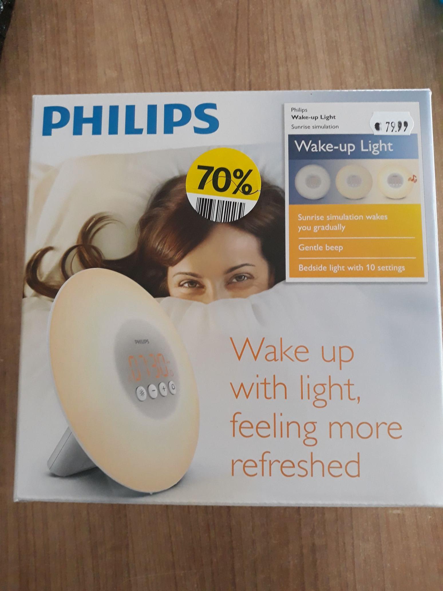 Philips wake up light hs3500