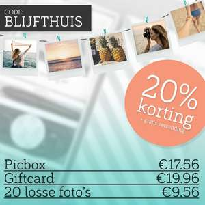 20% korting @ picbox