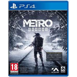 Metro Exodus PS4/Xbox One