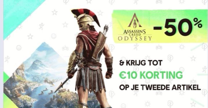 Koop Assassin's Creed Odyssey en krijg €10 korting op je tweede artikel @ Ubisoft Store