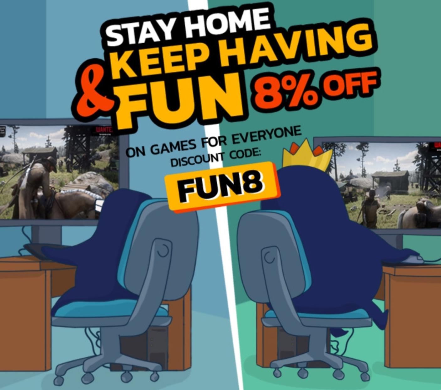 8% korting op alles @ Kinguin