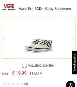 Vans Era BMX €19,99 @ Footlocker