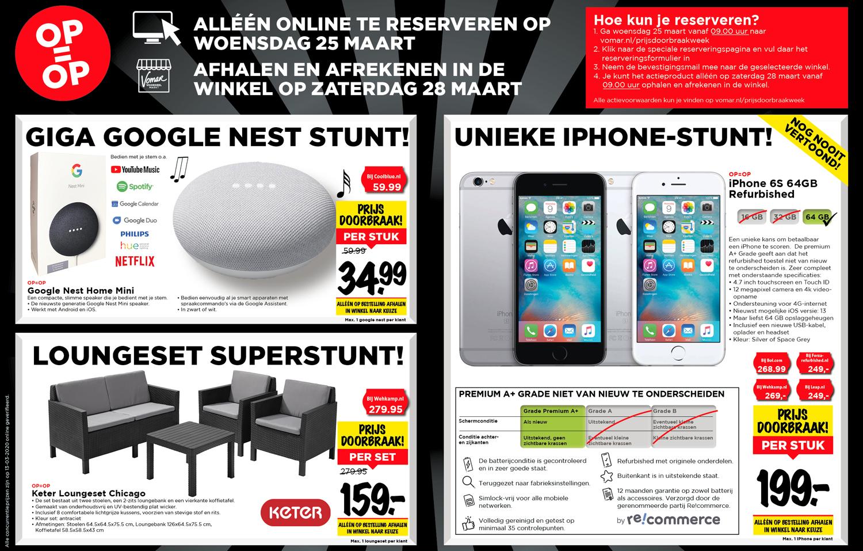 Google Nest Home Mini €34,99