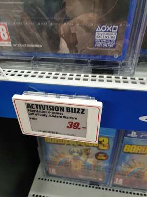 Call of Duty: Modern Warfare | PS4 @ Mediamarkt Apeldoorn