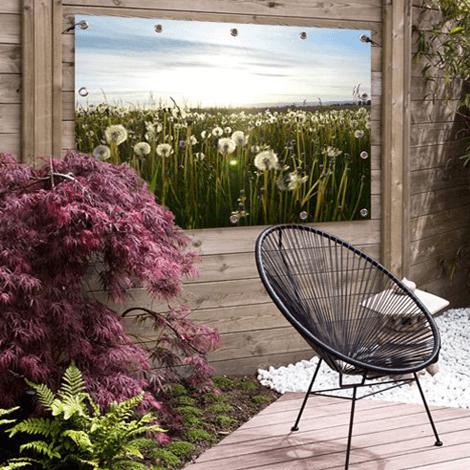 Tuinposter 50 cm x 70 cm tijdelijk met 85% korting @ Canvas Company