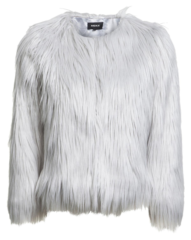 Mexx faux fur jas €39,99 met code @ V&D