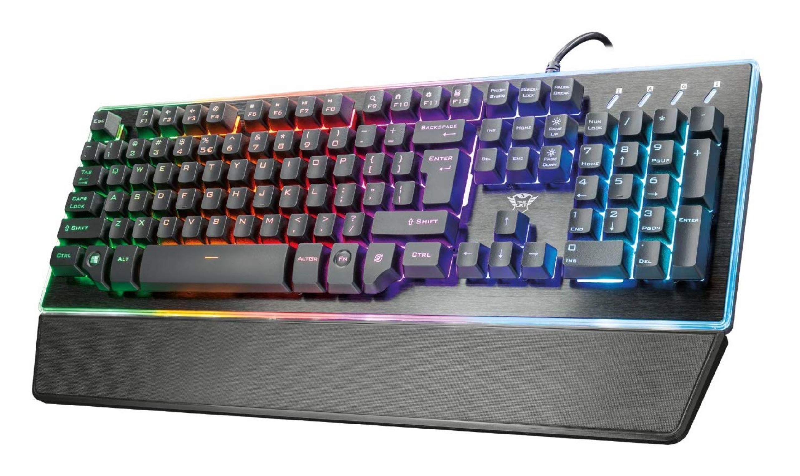 Trust GXT 860 Thura Semi Mechanisch Gaming Toetsenbord