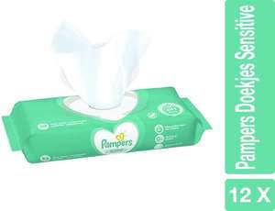 Pampers Sensitive Babydoekjes 12x52 @ Bol.com (extern)