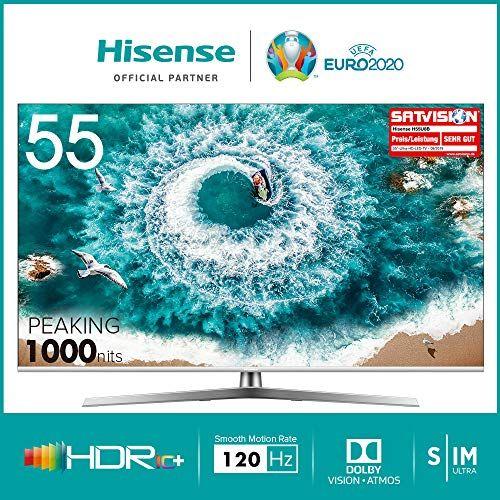 Hisense H55U8B 4K Dolby Vision 120HZ HDR10+ Dolby Atmos