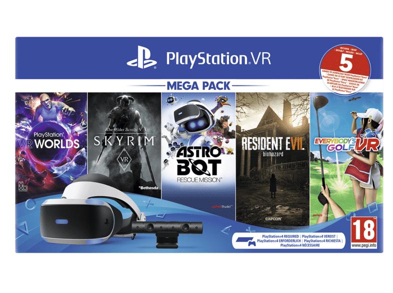 SONY Playstation VR Megapack II + 5 Games + tijdelijk Battlezone (VR) meegeleverd