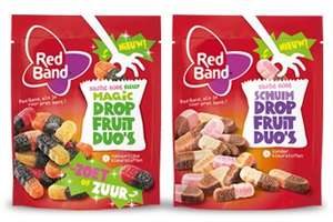 (kans op) Gratis (=cashback) Red Band Dropfruit Duo's Schuim of Red Band Dropfruit Duo's Magic