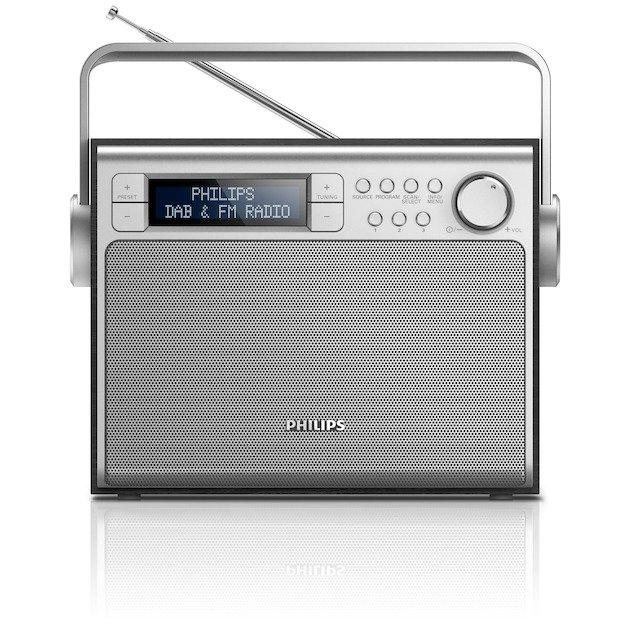 PHILIPS AE5020B/12 ZWART DAB+ Radio voor €45 @ Expert