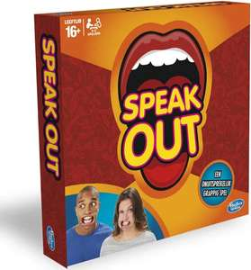 Hasbro Speak Out gezelschapsspel (Engelstalig) voor €7,18 @ Amazon NL of DE