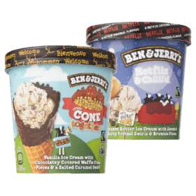 Ben & Jerry's Netflix & Chill'd of Cone Together met 50% korting @PLUS supermarkt