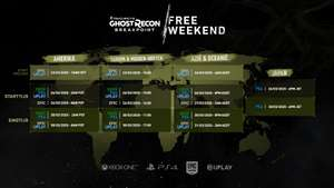 Ghost Recon Breakpoint free weekend [PC/PS4/XBOX One]