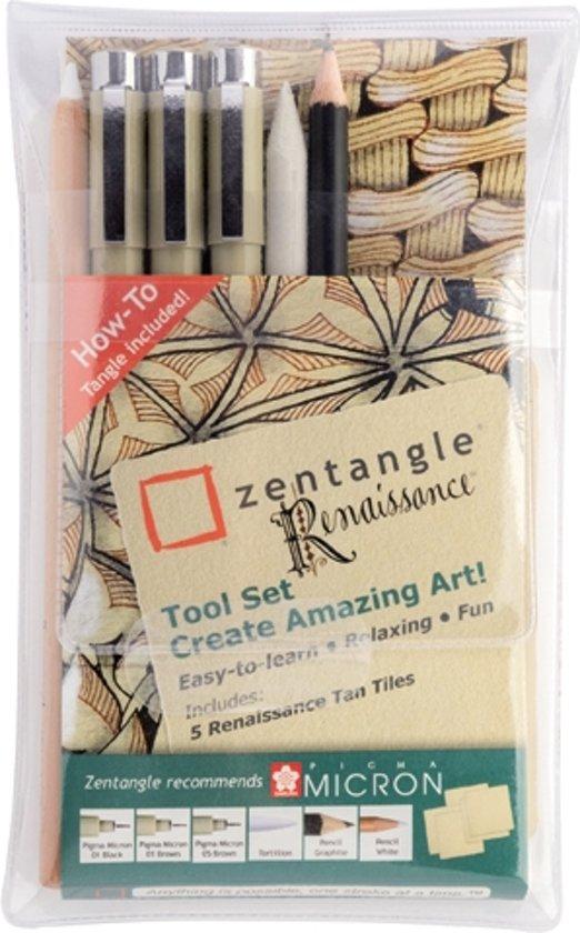 Sakura Zentangle Renaissance tool set (11 stuks) voor €0,09 @ Bol.com