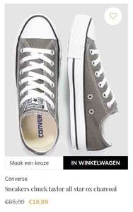 Laatste paren Converse All Stars (45 // 46) @ Maison Lab