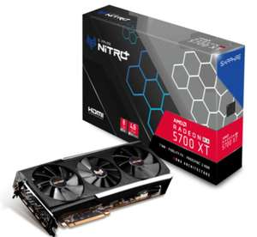Sapphire Videokaart Radeon RX 5700 XT NITRO+ 8 GB GDDR6