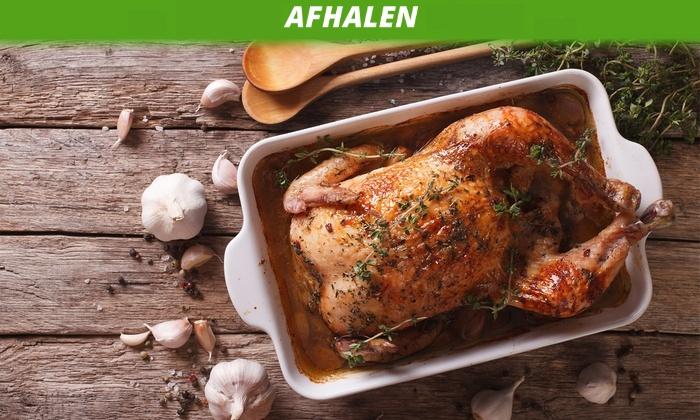 [Afhaal Heemstede] v.a. €5,60 p.p. schnitzel, saté of 1/2 kip + mayo + friet bij Popsuiker @ Groupon