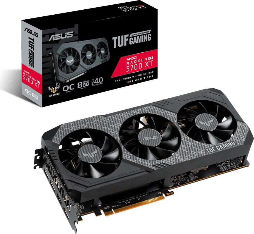Asus TUF Gaming X3 Radeon RX 5700 XT OC edition 8GB GDDR6