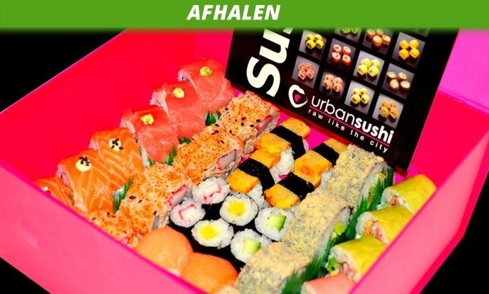 [Afhaal Den Haag] €14,03 voor 'I Love Box' met 34 stuks bij Urban Sushi @ Groupon