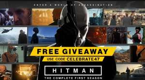 HITMAN - The Complete First Season gratis (Steam key) @ IO Interactive Store