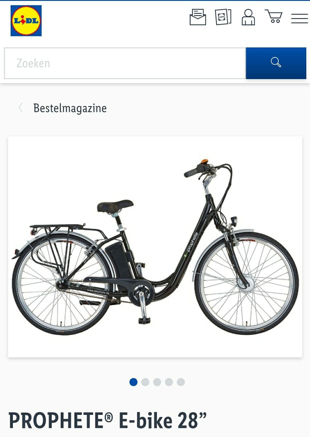 """Lidl E-bike Prophete 28"""""""