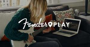 Fender Play 3 maanden gratis (Bass/Acoustic/Electric/Ukulele)