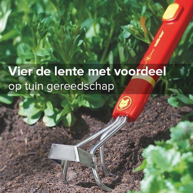 10% korting op alle tuinartikelen bij V&D