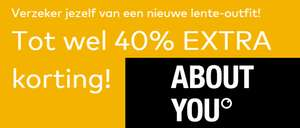 Tot 40% extra korting + 10% extra korting @ About You