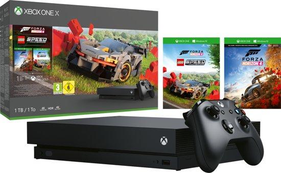 Xbox One X 1TB + Forza Horizon 4 & LEGO Speed Champions + 1 maand gratis Gold (Online)