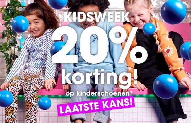 KIDSWEEK! 20% korting op heel veel kinderschoenen @Ziengs