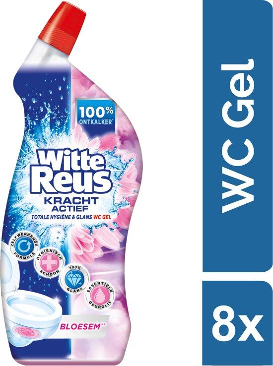 [SELECT ONLY] Witte Reus Toiletreiniger - Voordeelverpakking - Bloesem 8 x 700ml